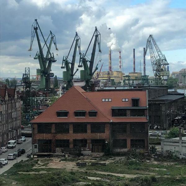 NOMUS Nowe Muzeum Sztuki Oddział Muzeum Narodowego w Gdańsku w budowie